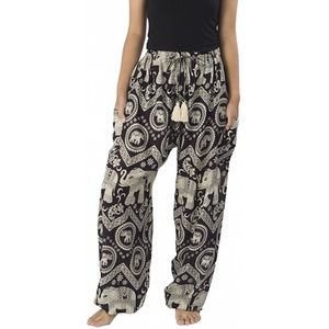 Pants - Elephant printed joggers or lounge pants
